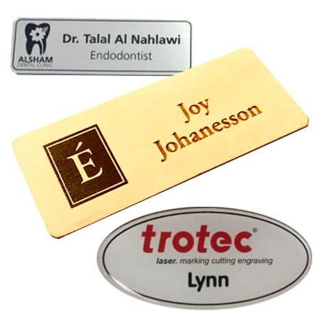 Name Tags – Landmark Recognition
